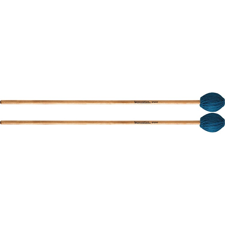 Innovative Percussion Soloist Series Mallets Medium Soft Birch Handles
