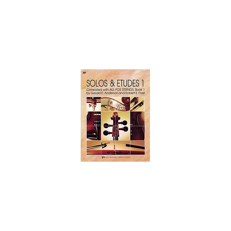 KJOS Solos And Etudes 1 All for Strings Violin Book