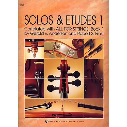 KJOS Solos And Etudes, BK1/CELLO-thumbnail