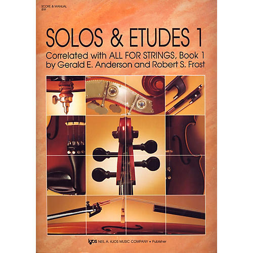 KJOS Solos And Etudes, BK1/SCORE