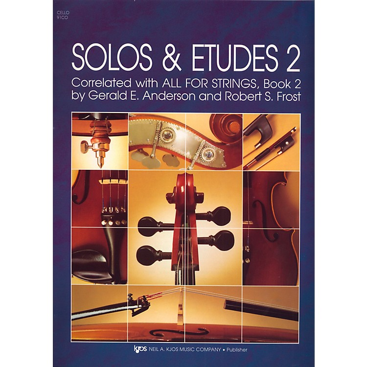 KJOSSolos And Etudes-BOOK 2/CELLO