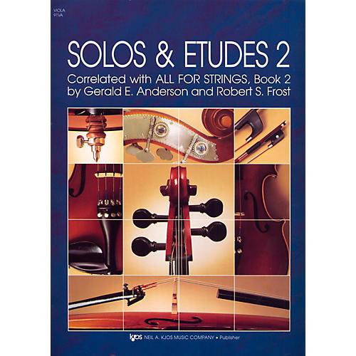 KJOS Solos And Etudes-BOOK 2/VIOLA-thumbnail