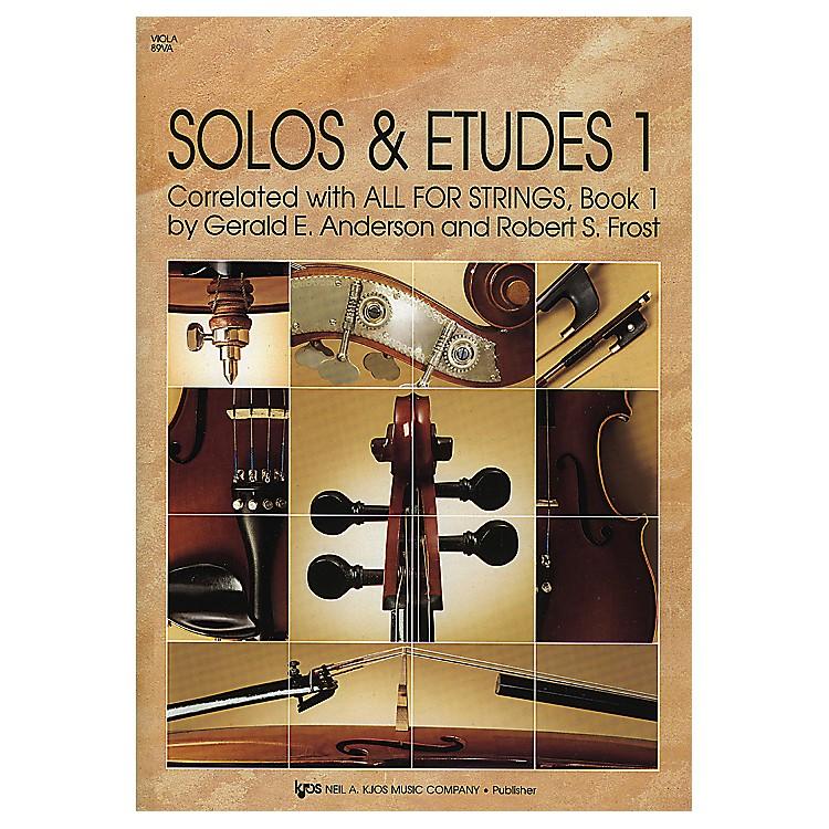 KJOSSolos And Etudes Book1Viola