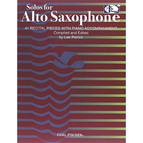 Carl Fischer Solos For Alto Saxophone Book