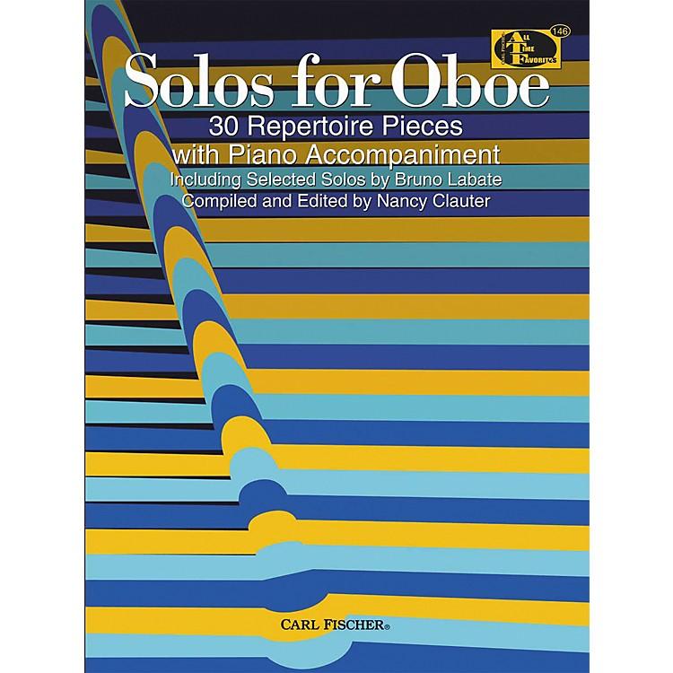 Carl FischerSolos For Oboe Book