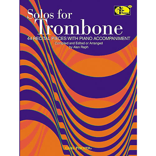 Carl Fischer Solos For Trombone Book-thumbnail