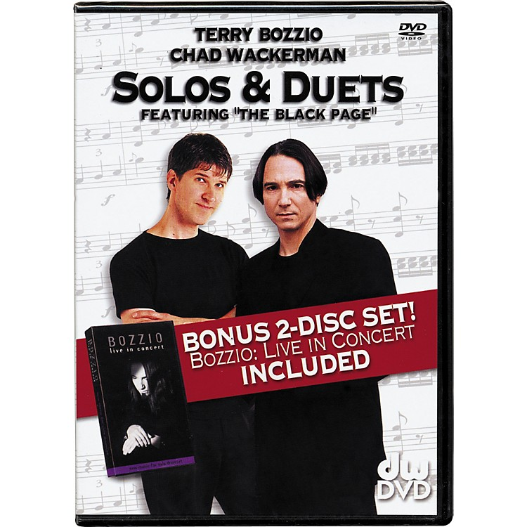 The Drum Channel Solos and Duets: Terry Bozzio and Chad Wackerman DVD