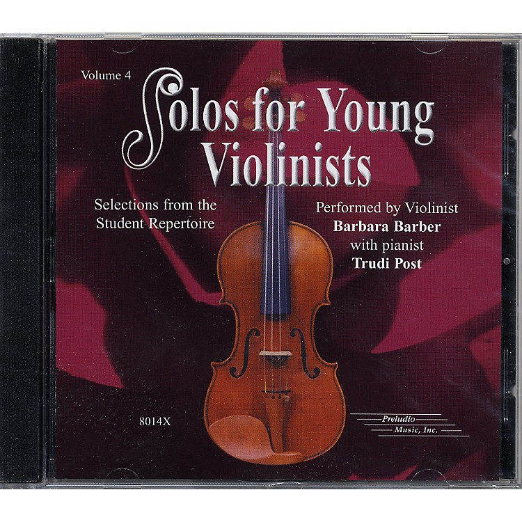 Alfred Solos for Young Violinists Vol. 4 (CD)
