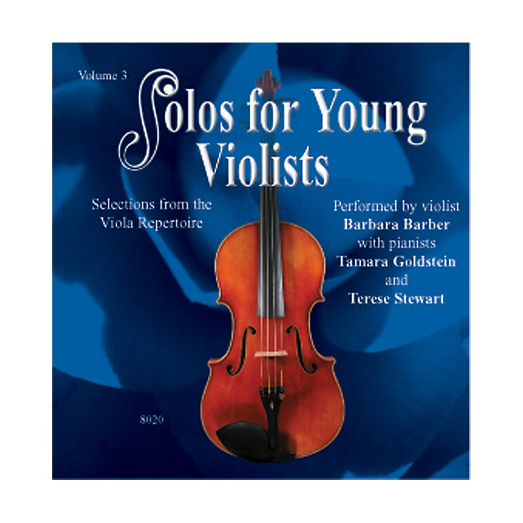 Alfred Solos for Young Violists Vol. 3 (CD)