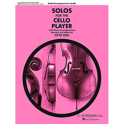 G. Schirmer Solos for the Cello Player String Solo Series Softcover with CD Composed by Various Edited by Otto Deri