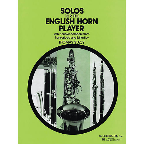 G. Schirmer Solos for the English Horn Player Woodwind Series Composed by Various Edited by P Thomas-thumbnail