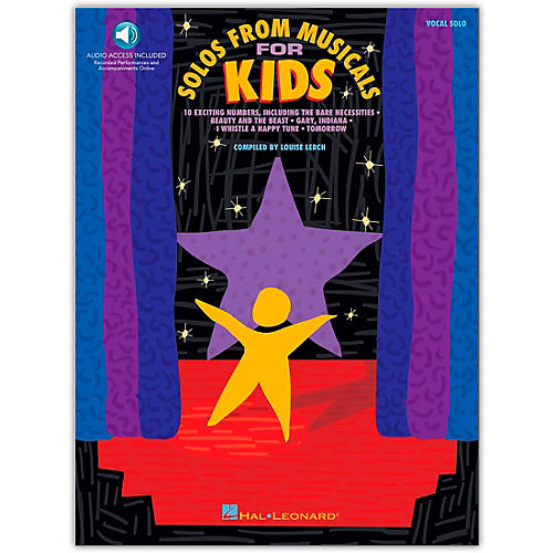 Hal Leonard Solos from Musicals for Kids (Book/Online Audio)