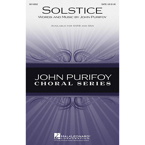 Hal Leonard Solstice SSA Composed by John Purifoy-thumbnail