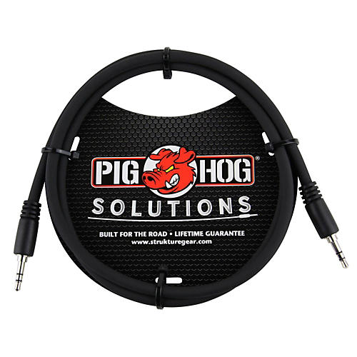 Pig Hog Solutions 3.5mm TRS to 3.5mm TRS Adapter Cable 9 ft.