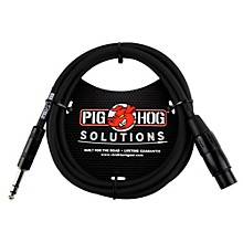 Pig Hog Solutions TRS(M) to XLR(F) Balanced Adapter Cable 6 ft.