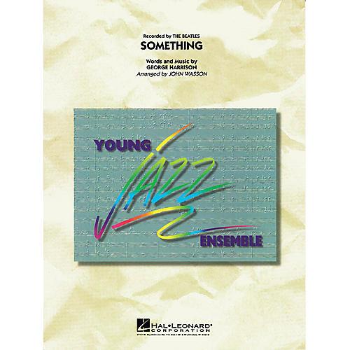 Hal Leonard Something Jazz Band Level 3 by The Beatles Arranged by John Wasson-thumbnail
