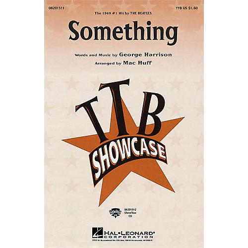 Hal Leonard Something TTB by The Beatles arranged by Mac Huff-thumbnail
