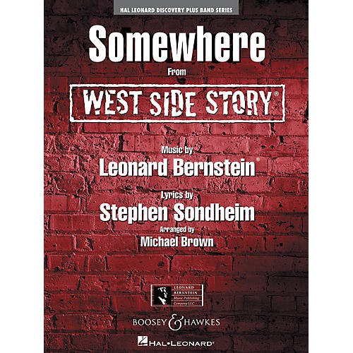 Hal Leonard Somewhere (from West Side Story) Full Score Concert Band-thumbnail