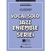 Hal Leonard Somewhere (from West Side Story) Jazz Band Level 3-4 Composed by Stephen Sondheim