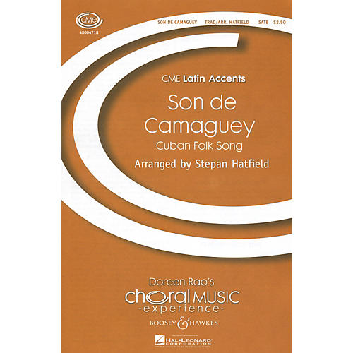 Boosey and Hawkes Son De Camaguey SATB