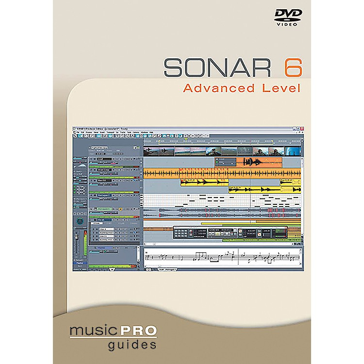 Hal Leonard Sonar 6 Advanced Level DVD Music Pro Guide Series