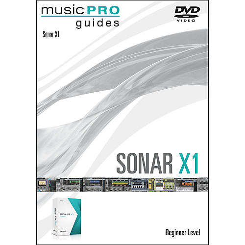 Hal Leonard Sonar X1 Music Pro Guide DVD Tutorial