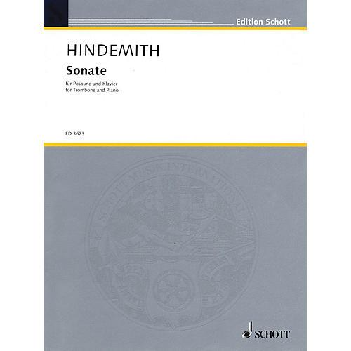 Schott Sonata (1941) (Trombone and Piano) Schott Series