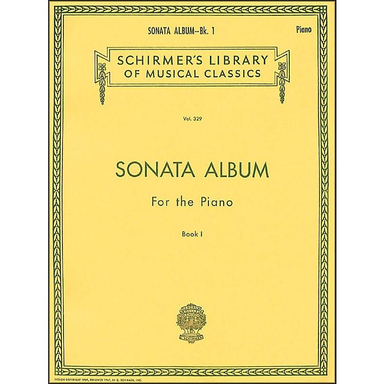 G. SchirmerSonata Album Book 1 for Piano - 15 Sonatas By Haydn, Mozart And Beethoven