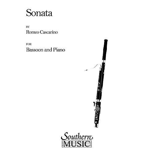 Southern Sonata (Bassoon) Southern Music Series by Romeo Cascarino