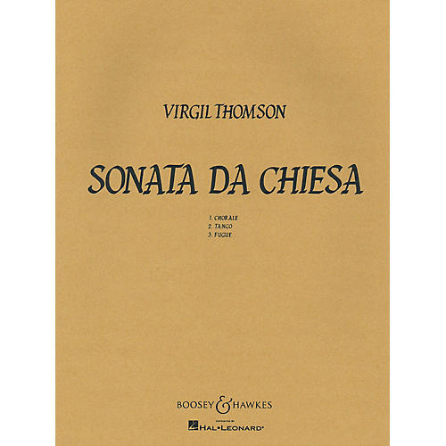 Boosey and Hawkes Sonata Da Chiesa Boosey & Hawkes Chamber Music Series by Virgil Thomson-thumbnail