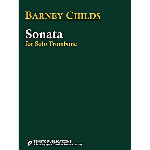 Carl Fischer Sonata For Solo Trombone
