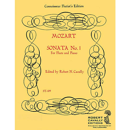Hal Leonard Sonata No. 1 in Bb (Connoisseur Flutist's Edition) Robert Cavally Editions Series by Robert Cavally-thumbnail