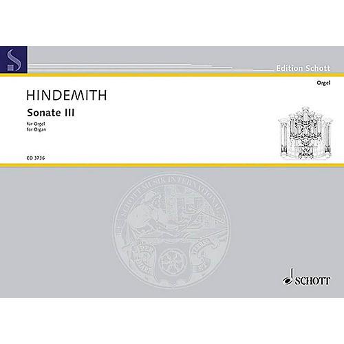 Schott Sonata No. 3 On Old Folk Songs Schott Series-thumbnail
