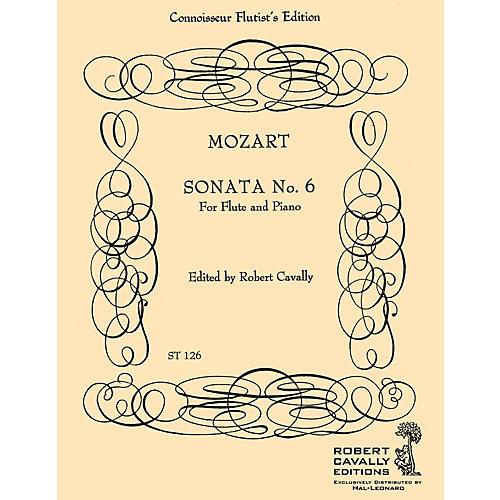 Hal Leonard Sonata No. 6 in Bb (Connoisseur Flutist's Edition) Robert Cavally Editions Series by Robert Cavally-thumbnail