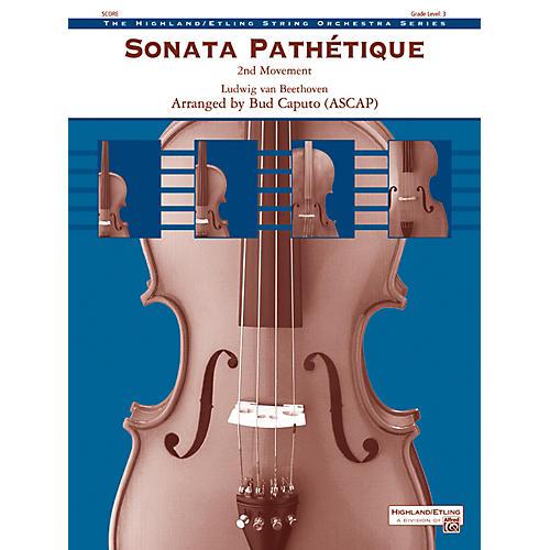 Alfred Sonata Pathetique String Orchestra Grade 3 Set-thumbnail