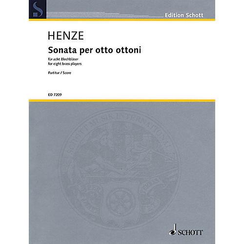 Schott Sonata Per Otto Ottoni8 Windsscor Schott Series