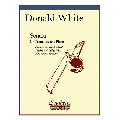 Southern Sonata (Trombone) Southern Music Series Composed by Donald White-thumbnail