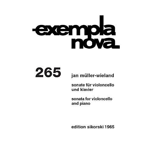 Sikorski Sonata for Cello and Piano String Series-thumbnail