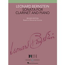 Boosey and Hawkes Sonata for Clarinet and Piano Boosey & Hawkes Chamber Music Series Composed by Leonard Bernstein