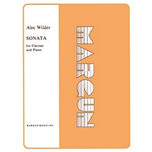 Margun Music Sonata for Clarinet and Piano Shawnee Press Series