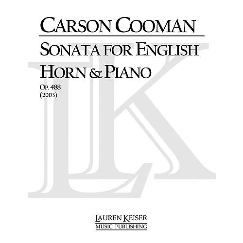Lauren Keiser Music Publishing Sonata for English Horn and Piano LKM Music Series Composed by Carson Cooman-thumbnail