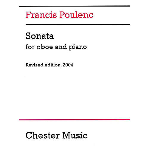 Chester Music Sonata for Oboe and Piano (Revised edition, 2004) Music Sales America Series Book-thumbnail