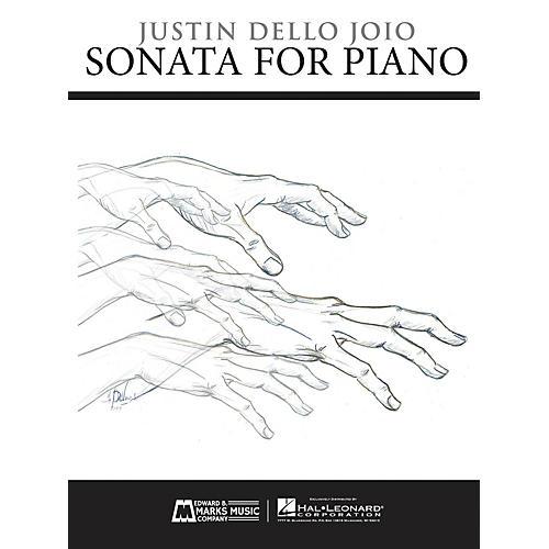 Edward B. Marks Music Company Sonata for Piano E.B. Marks Series Softcover Composed by Justin Dello Joio-thumbnail