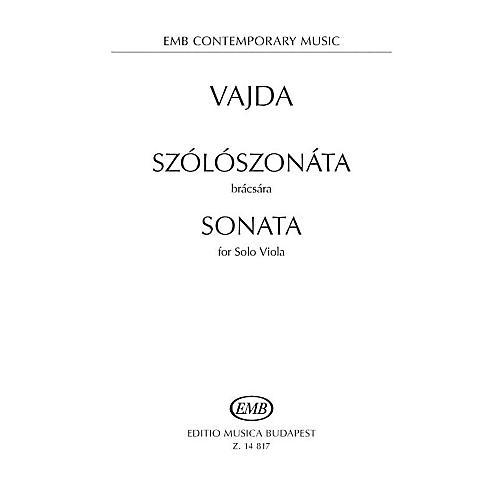 Editio Musica Budapest Sonata for Solo Viola EMB Series Softcover-thumbnail