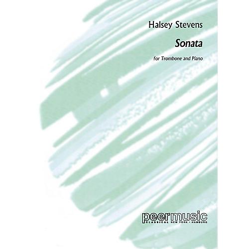 Peer Music Sonata (for Trombone and Piano) Peermusic Classical Series