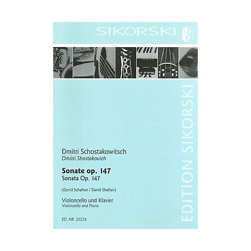 Sikorski Sonata for Violoncello and Piano String Series-thumbnail