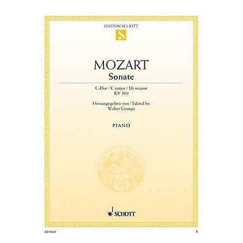 Schott Sonata in C Major, KV 309 Schott Series