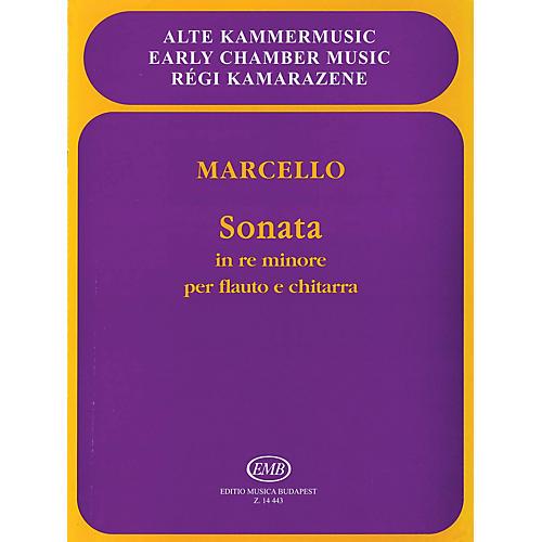 Editio Musica Budapest Sonata in D Minor, Op. 2, No. 2 EMB Series Composed by Benedetto Marcello