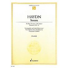 Schott Sonata in E-flat Major, Hob 16:52 (from the Urtext) Schott Series