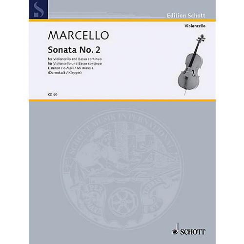 Schott Sonata in E minor (Cello and Piano) Schott Series